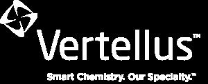 Vertellus White Logo w Tagline